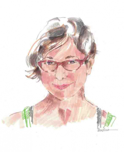 Christine Morgan at GetchaSketch