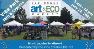 Old Beach Art - John Smallwood